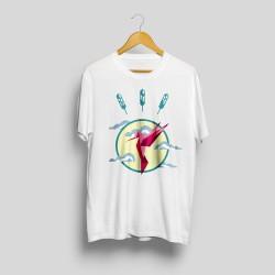 T-shirt imprimé colibri